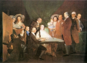 Stampe famose Goya FAMIGLIA DELL'INFANTE DON LUIS