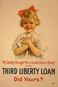 Stampe famose Poster Vintage LIBERTY LOAN