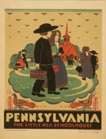 Stampe famose Poster Vintage PENNSYLANIA