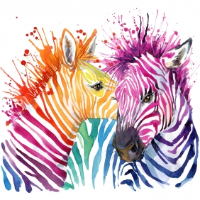 Stampa Illustrazioni Various Artists WOW ZEBRA