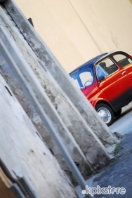 Stampe famose Rosaria Carchia FIAT 500